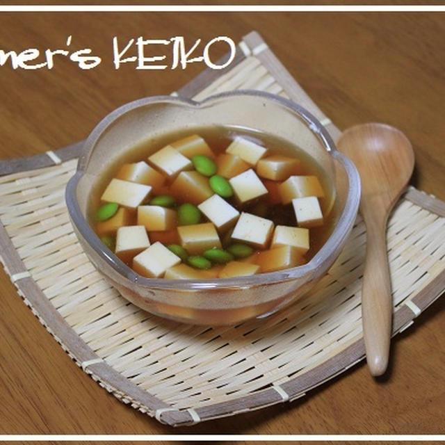 梅雨明けしました♪ ~レシピは『夏のお豆腐レシピ』です~