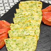 ズッキーニのガトーインビジブル風オムレツ【ぐんまクッキングアンバサダー】。オーブンで手軽に作れるおつまみ。