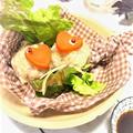 料理教室☆きまぐれランチ♪白菜のワンタン皮飲茶
