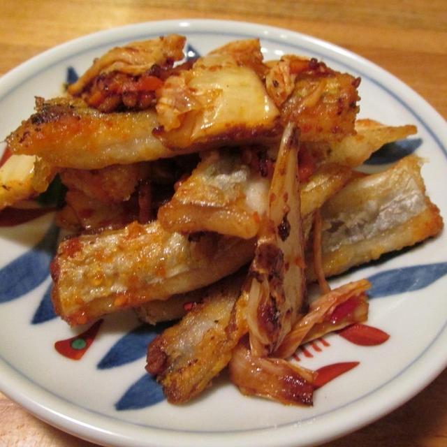 【旨魚料理】タチウオのキムチ炒め