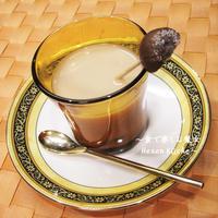 100均の甘栗で★特製マロンミルクティー★マロンの香り広がるリッチなひと時