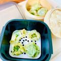 グルラボでレンチン♪モヤシとニラと豆苗の包まない餃子♡ by Lau Ainaさん
