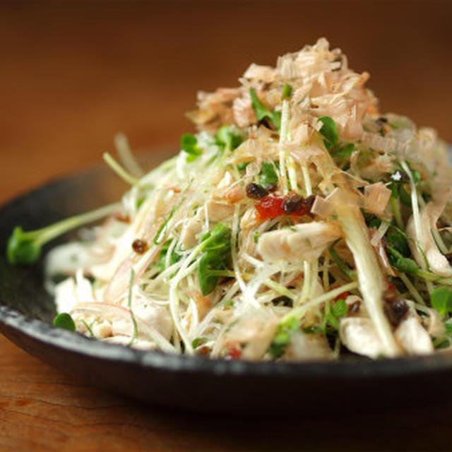 しっとり鶏ささみの薬味サラダ 、 しっとり鶏ささみ塩ゆでの作り方