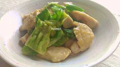 ご飯が進む♪キャベツと鶏肉のピリ辛味噌マヨ炒め