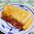 チーズとトマトのトースト