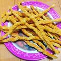 手作りのお土産☆グリッシーニと3色クッキー