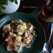 2歳写真♡春休み‼︎豆腐とベーコンのチーズ焼き