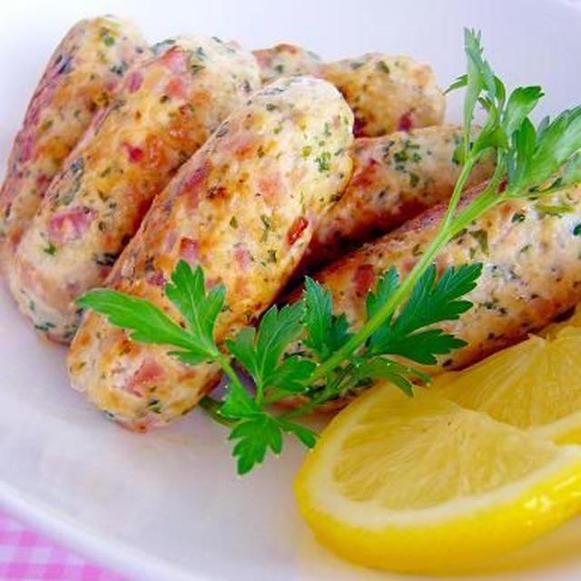レモン&パセリの香味ソーセージ
