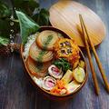春満開🌸ピンクの甘酢生姜の肉巻き