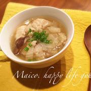 柚子胡椒が決め手!簡単・時短!白菜トロトロ餃子スープ