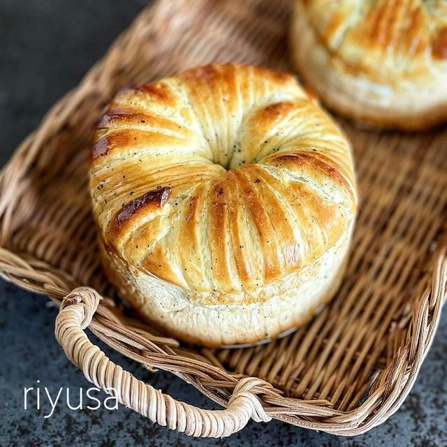 【おうちパンレシピ】紅茶キャラメルのウールロールパン