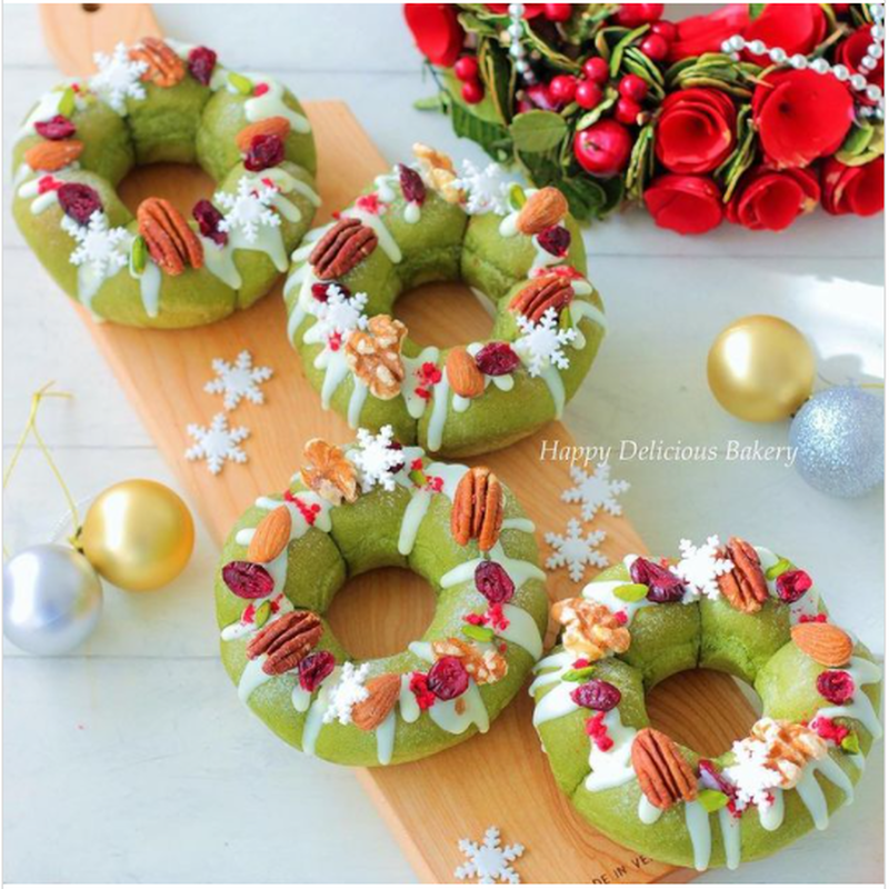 クリスマスが待ちきれない!今からチェックしておきたい「#リース」モチーフのお料理フォト