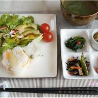 筍ご飯・豆ごはん・常備菜に、簡単スープでブランチ