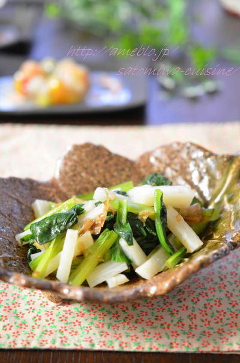 いつものお浸しに飽きたら…小松菜と○○のお浸しレシピ5選
