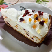 新発売・スターバックス フルーツレアチーズケーキ