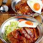 【簡単レシピ】カフェ風しょうが焼き丼/カード通すの難しいw