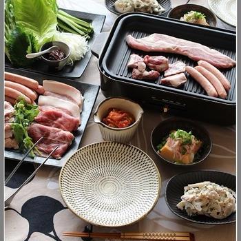 サムギョプサル風!豚肉BBQ♪