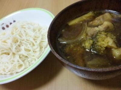 そうめんレシピ~カレーつけ麺~*