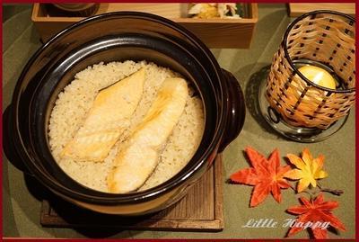 鮭の炊き込みご飯de親子丼(レシピ)