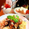 トマト&茄子のハーブロースト ~ 茹でじゃがいもにのせて★ by mayumiたんさん