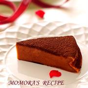 ホットケーキミックスで簡単お菓子♪バター生クリームなしでシットリ濃厚♡バレンタインに豆腐ガトーショコラ&仲良し風ニャンズ