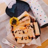 サンドイッチお弁当♪キュキュットCLEAR泡スプレーでピッカピカ☆