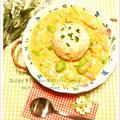 そら豆とベーコンのコーンクリームカレー by 庭乃桃さん