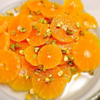 オレンジフラワーサラダ♪