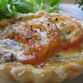 トマトとチーズのタルト