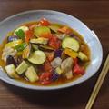 鶏肉とたっぷり夏野菜のさっぱり美味しい甘酢あんかけ