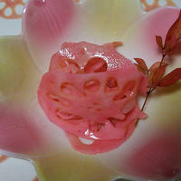 梅酢蓮根とFaceshopのカレンダーのリダ2