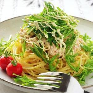 ランチに食べたい!水菜で簡単♪パスタ料理
