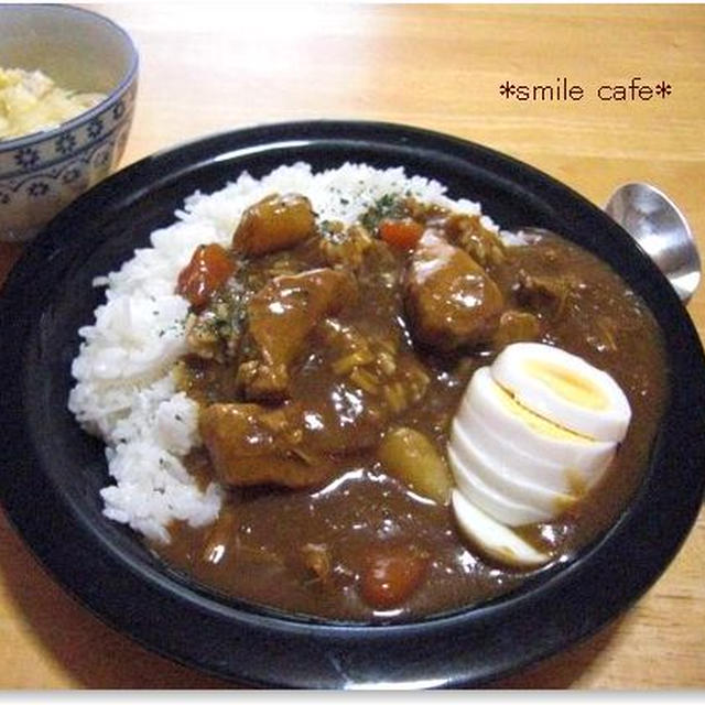 *圧力鍋でおいしい〜っ豚肉&帆立のカレー*