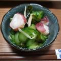 胡瓜と蛸の酢の物のレシピ
