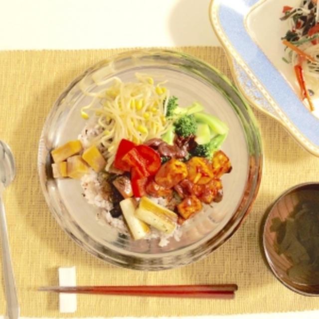 ベジタリアンな韓国料理を作ってみる