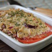 トマトとクリームチーズのドリア