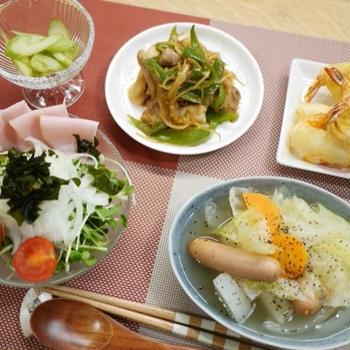 まとめてお夕飯〜
