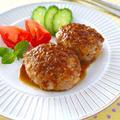 筍のにんにくバター醤油ハンバーグ♪簡単おいしい春の味覚レシピ by みぃさん