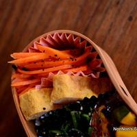 簡単減塩レシピ♪焼き人参の黒こしょうマリネとマクロビクッキー教室