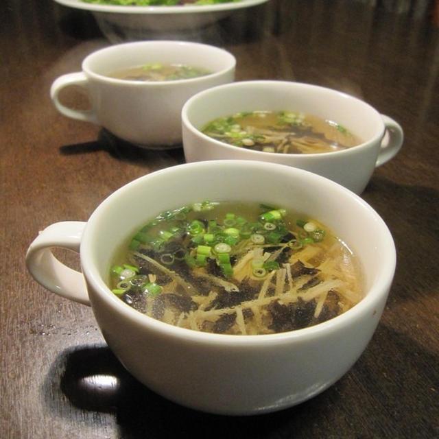 鹿肉の中国風スープ&塩麹漬け焼き
