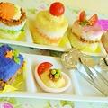 ごはんでケーキ☆レシピ&オードブル3段目詳細