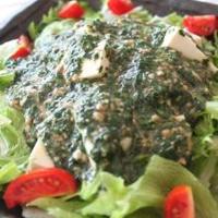 夏におすすめ☆ねばとろ~なシャキシャキレタスと豆腐のサラダ