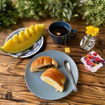 たかなパンとクリームパン@ずんちゃんパン