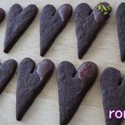 バレンタインにも♪ サクサクのチョコサブレ