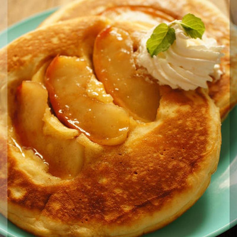 幸せの甘さ♪「キャラメルパンケーキ」のおすすめレシピ