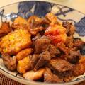 練り物と牛肉のブラックペパー*甘辛煮☆彡