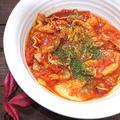 白菜と豚肉のトマト煮込み
