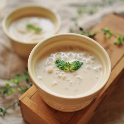【レシピ】六条大麦のタピオカココナッツミルク風