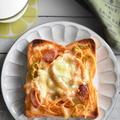 冷凍作り置きトースト~ナポリタントースト