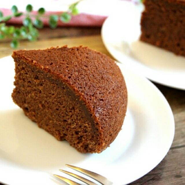 【簡単!炊飯器で♪】とうふ入り♪しっとり濃厚!生チョコケーキ